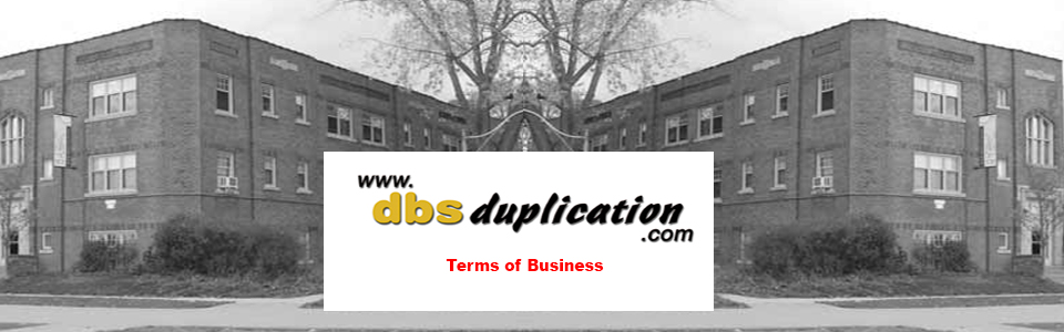 CD Duplication Canada Terms