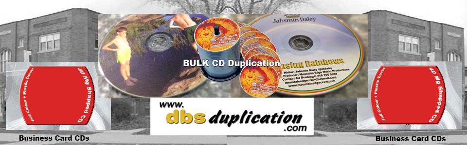 CD Duplication in CANADA