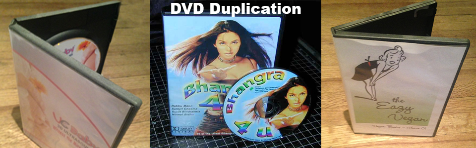 CD Duplication Toronto DVD Pressed