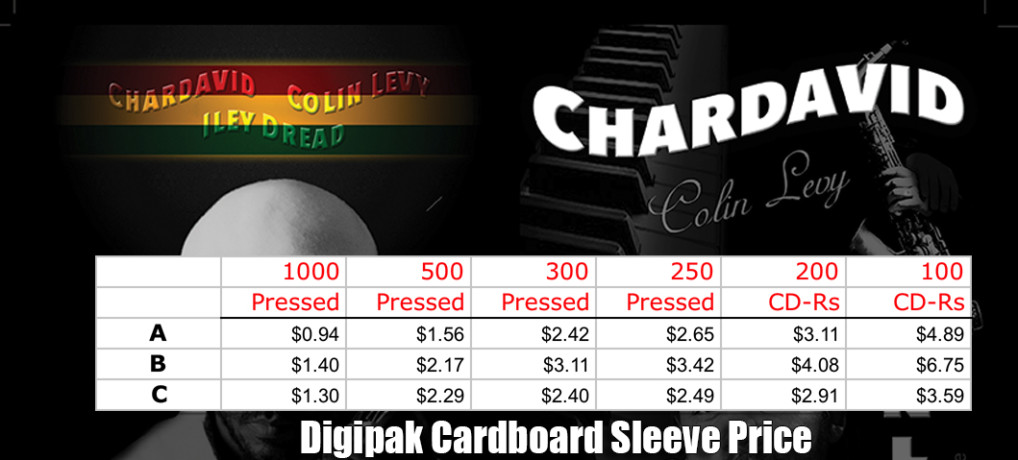Digipak Cardboard Sleeve Price