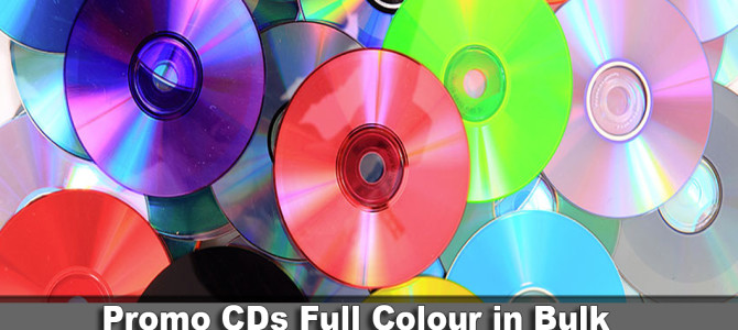Promo CDs Full Colour in Bulk