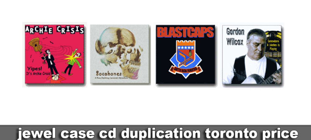 cd duplication toronto Jewel Case price
