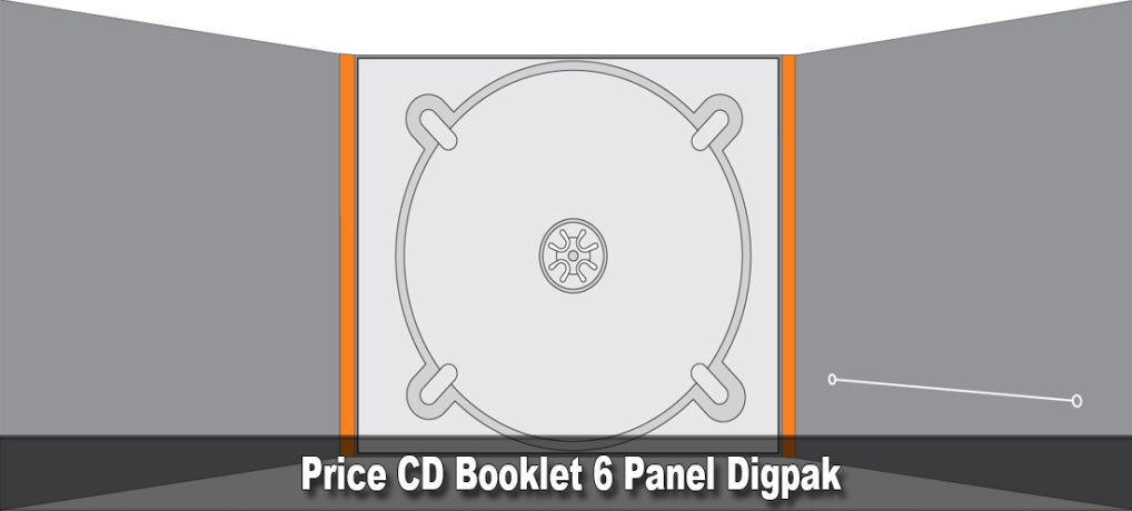 Price CD Booklet 6 Panel Digpak