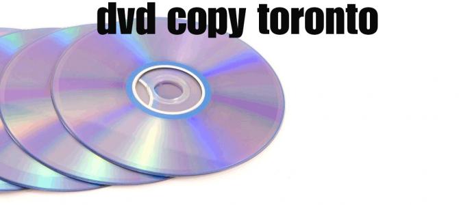 dvd copy toronto