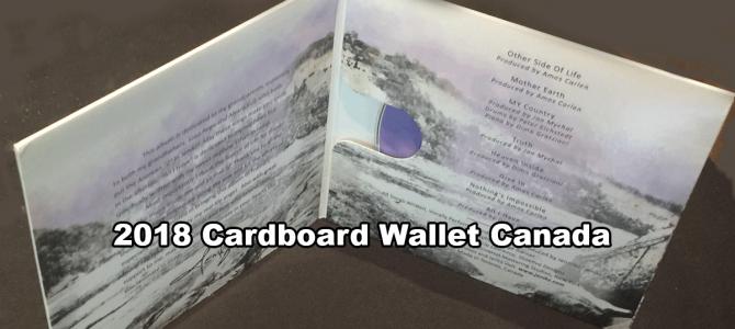 2018 Cardboard Wallet Canada