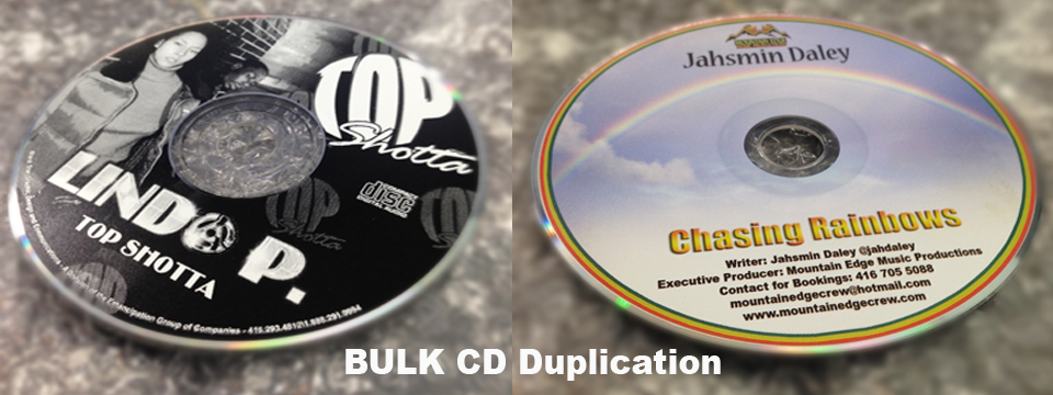Short Run CD Duplication Toronto