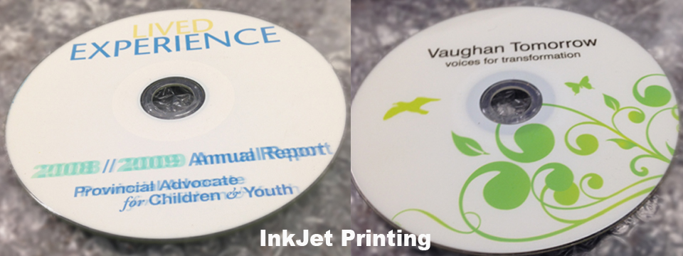 Colour InkJet Bulk CD Duplication Toronto
