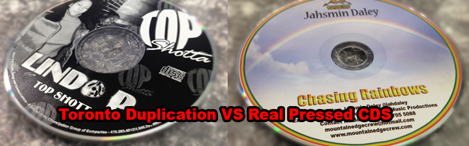 Toronto Duplication VS Real Pressed CDS