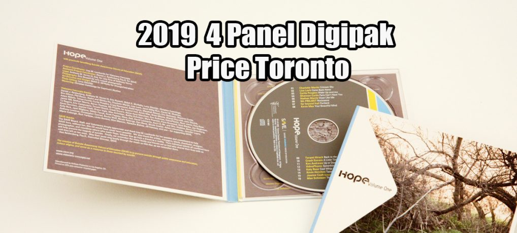 2019 Digipak Cardboard Sleeve Price